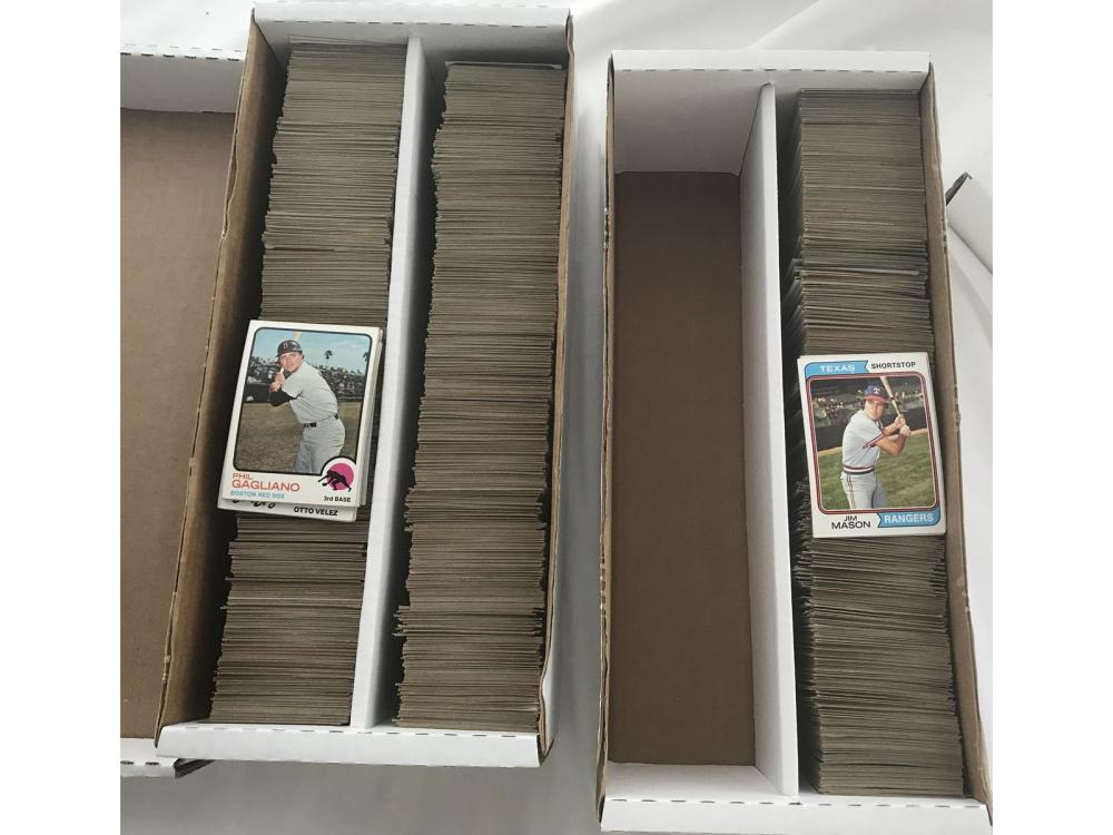 Approx 2400 Baseball Cards 1972-80