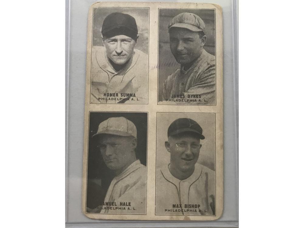 1931-32 Baseball Exhibit