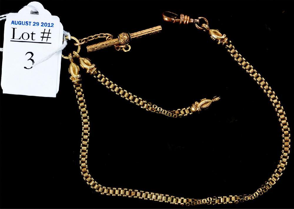 14Kt. Gold Watch FOB 20.9 Grams