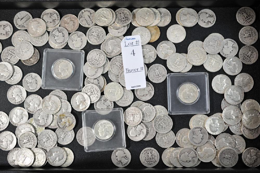 Silver Quarters $35.50 face value