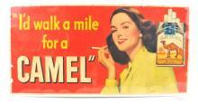 1948 Camel Poster Sign