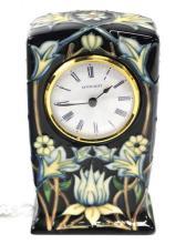 Vintage Moorcroft Porcelain Clock