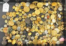 Estate Military Buttons