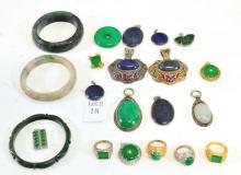 Asian Jewelry/Jade Bracelets/Rings/Pendants