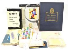 Estate Stamps Unused and More
