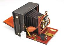 Antique Premo Camera with Glass Slide Negatives