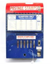 Vintage Original Post Office Stamp Machine
