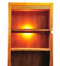 Vintage Oak Art Deco Desk/Bookshelf