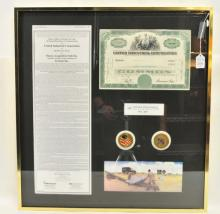 Group of Stock Certificates
