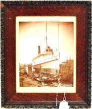 Original Antique Photo of Cumberland Steamship