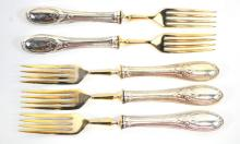Fine Silver Carving Set .900 and .800