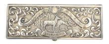 BPOE Sterling Silver Membership Card Case
