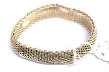 Tiffany and Company Flexible Mesh Bracelet