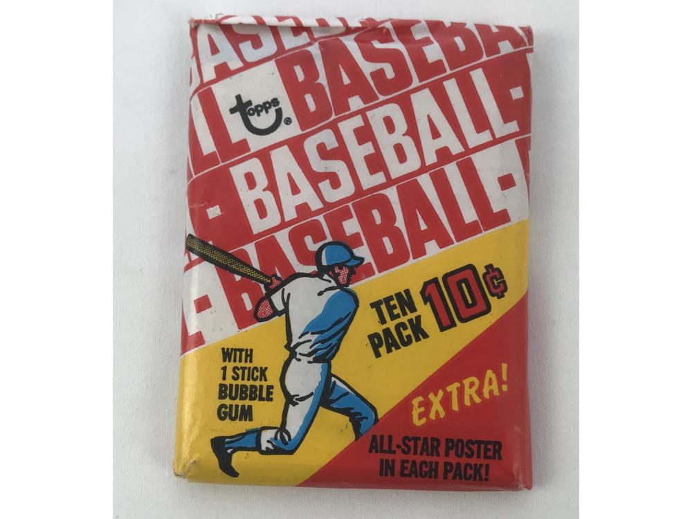 Lot 9: Unopened - 1970 Topps Baseball Wax Pack