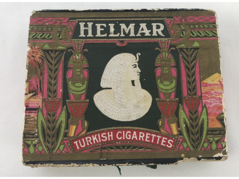 Vintage Cigarettes Box & 1911 T201 Double Folder