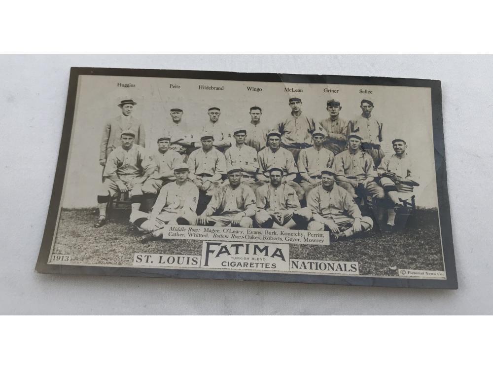 1913 T200 St. Louis Nationals-rare -