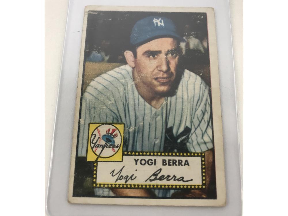 1952 Topps Yogi Berra #191