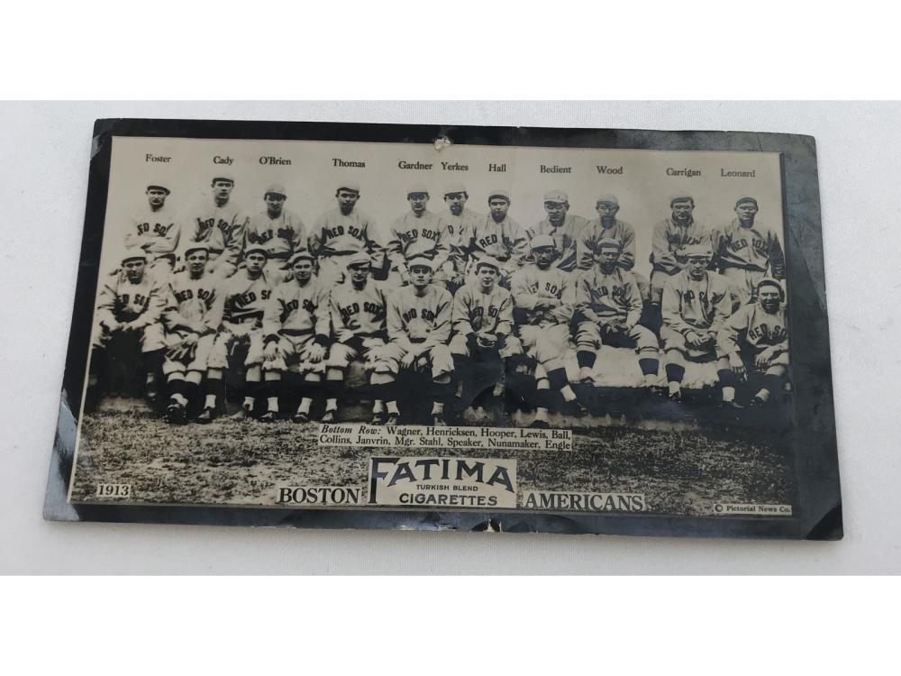 1913 T200 Boston Americans - Tris Speaker
