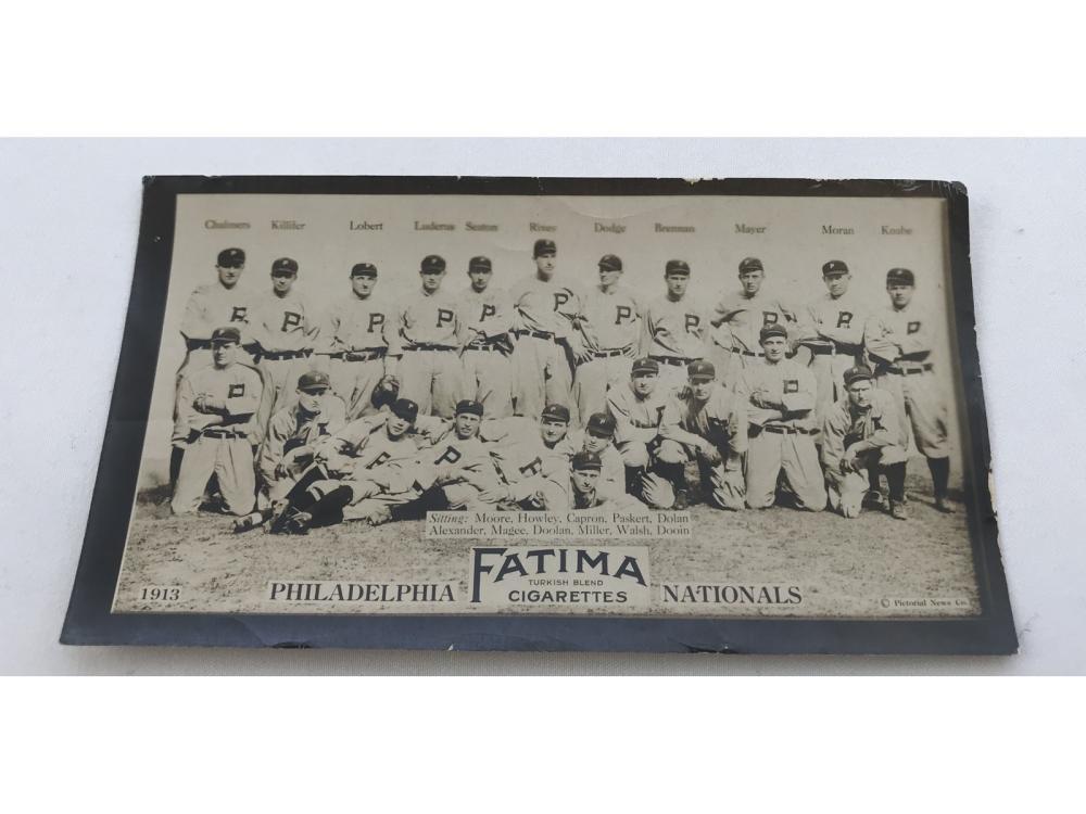 1913 T200 Philadelphia Nationals (grover Alexande)