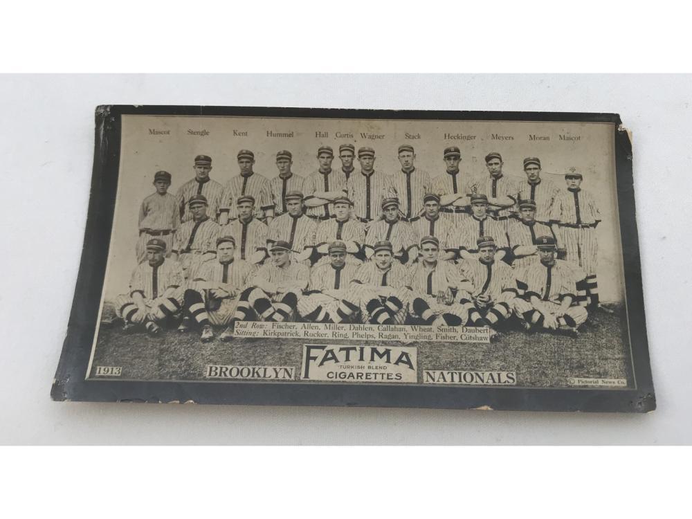 1913 T200 Brooklyn Nationals - Zach Wheat