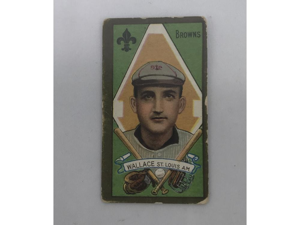 (12) 1911 Piedmont T205 W/ Hof Bobby Wallace