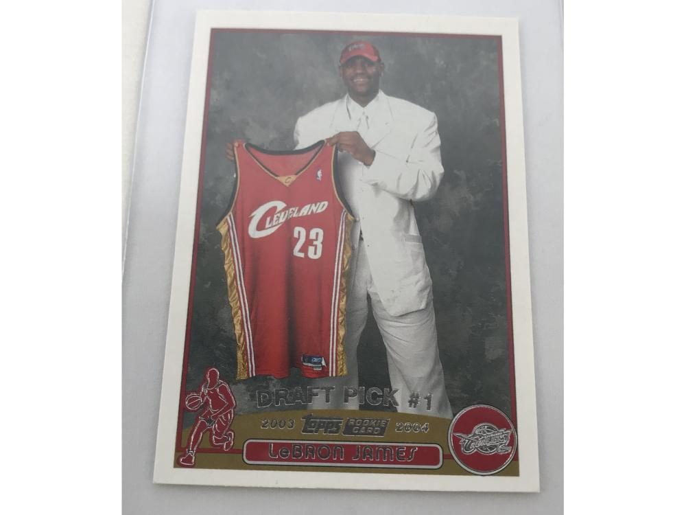 Pack Fresh 2003-04 Topps Lebron James Rookie