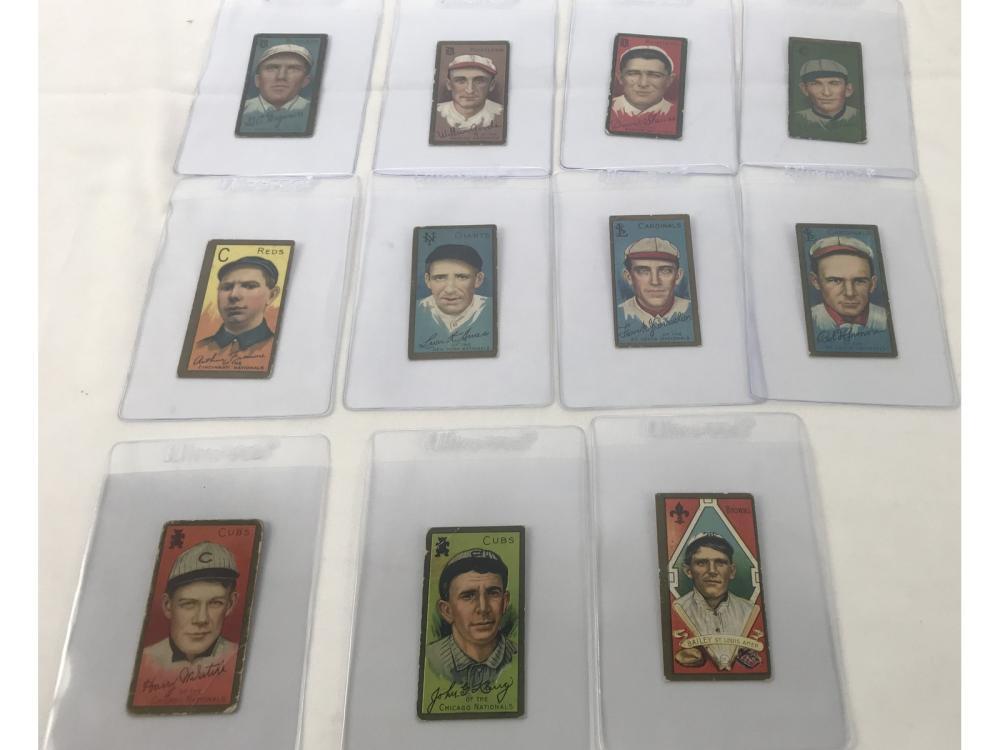 (11) 1911 T205 Polar Bear Tobacco Cards