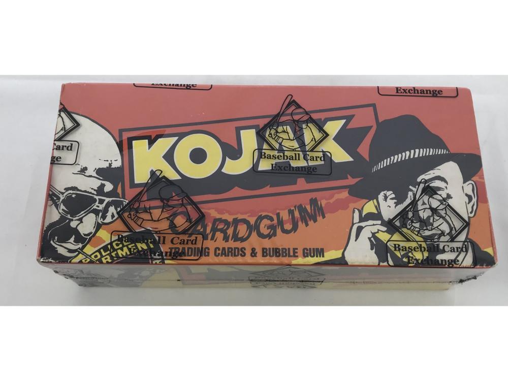 Bbce Sealed 1975 Kojak Wax Box (48 Packs)