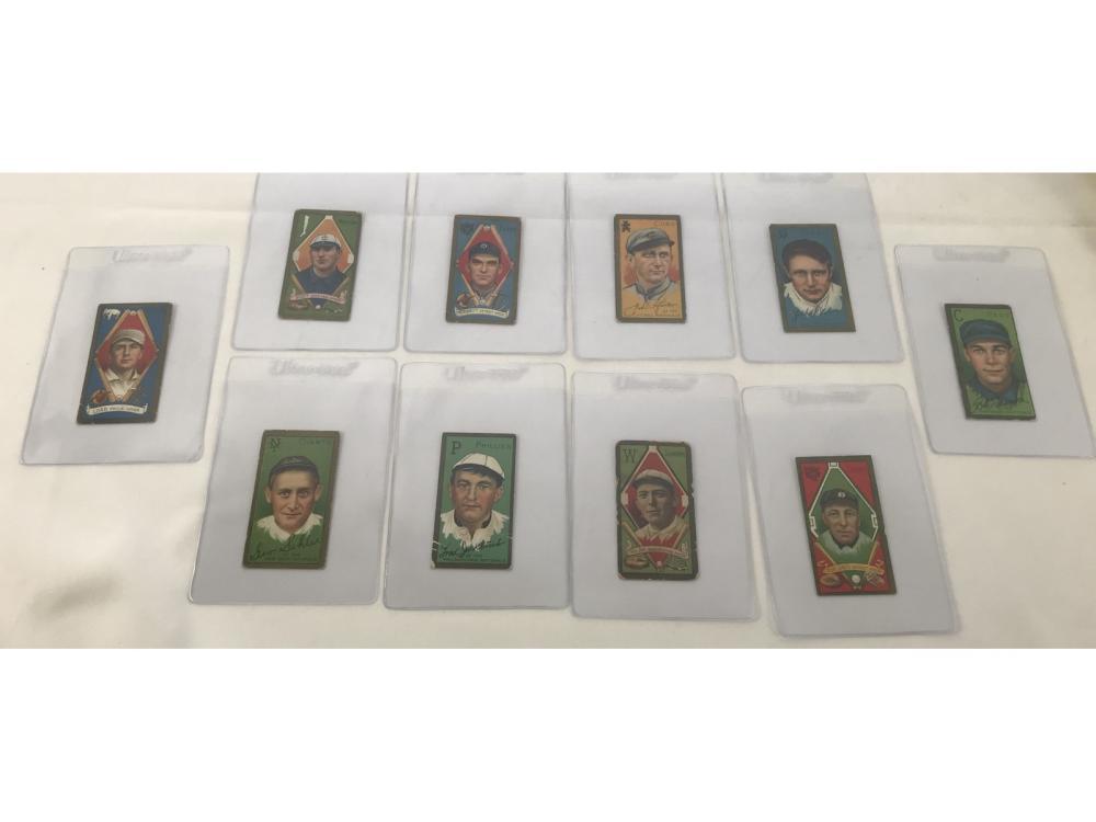 (10) 1911 T205 Tobacco Cards - See Description