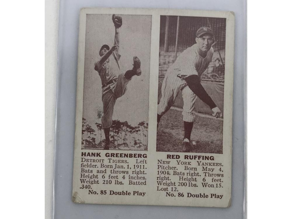 Hofers - 1941 Double Play (greenberg/ruffing)