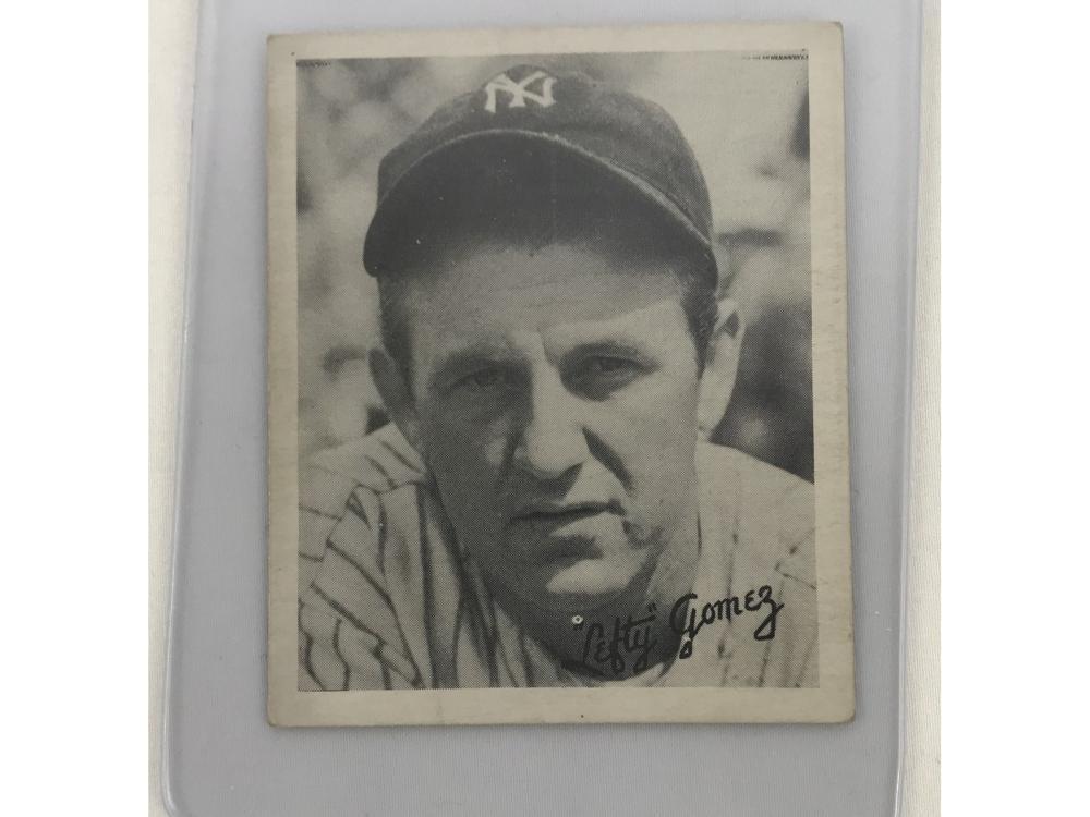 R322 1936 Goudey Lefty Gomez #14 (hof)