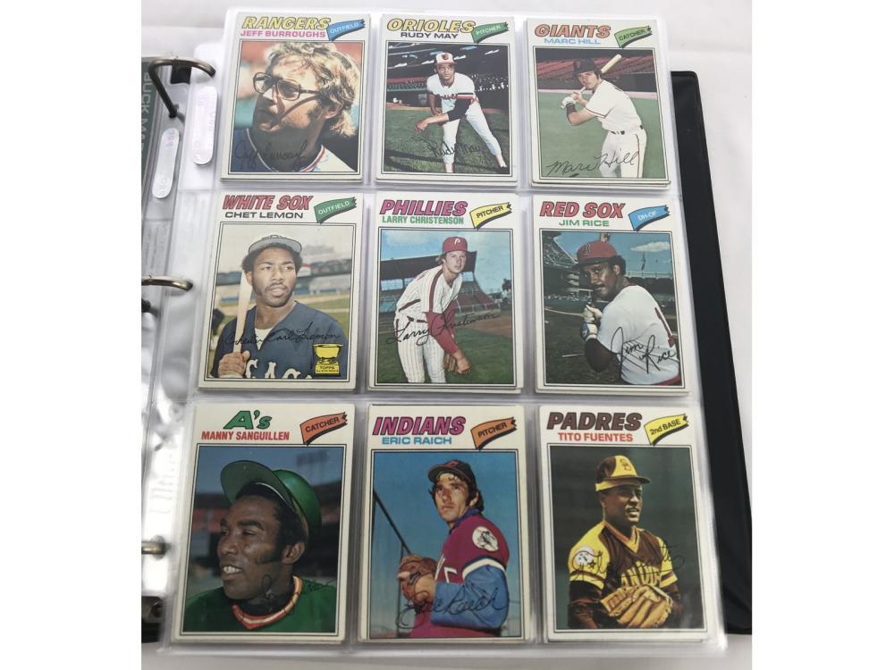 1977 Topps Baseball Complete Set (660/660)
