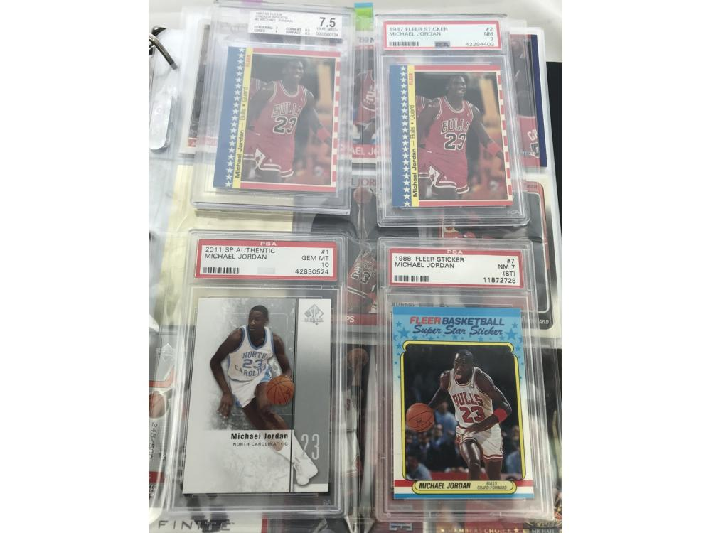 (373) Michael Jordan Card Collection