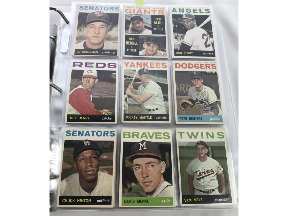 (587/587) 1964 Topps Baseball Complete Set