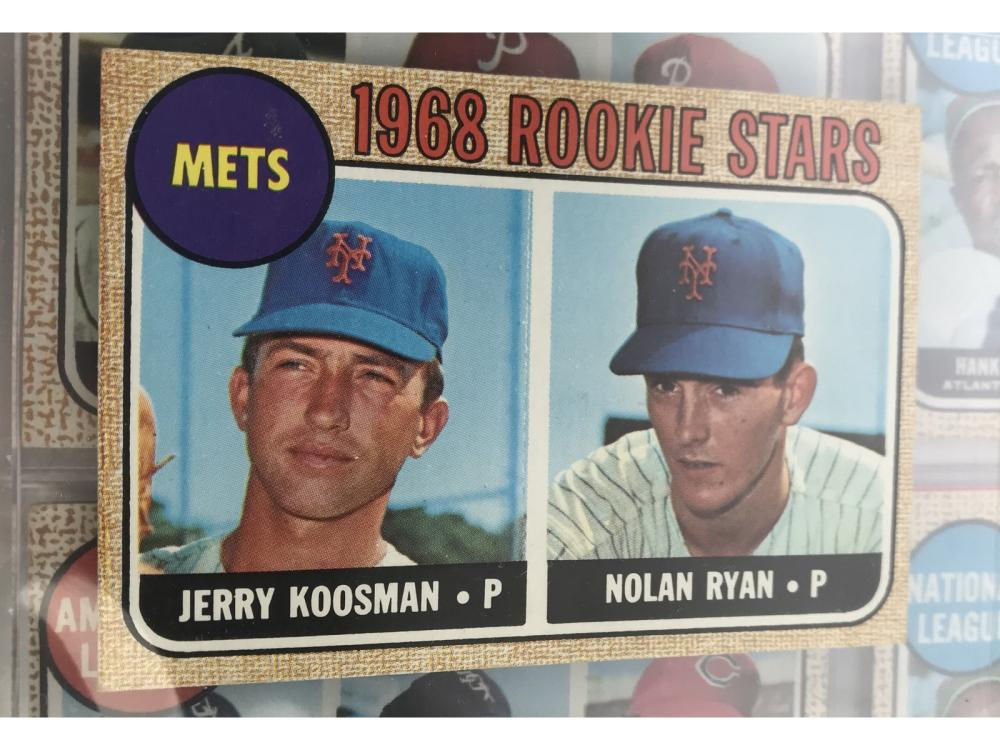 1968 Topps Complete Set - Graded Mantle & Ryan Rc