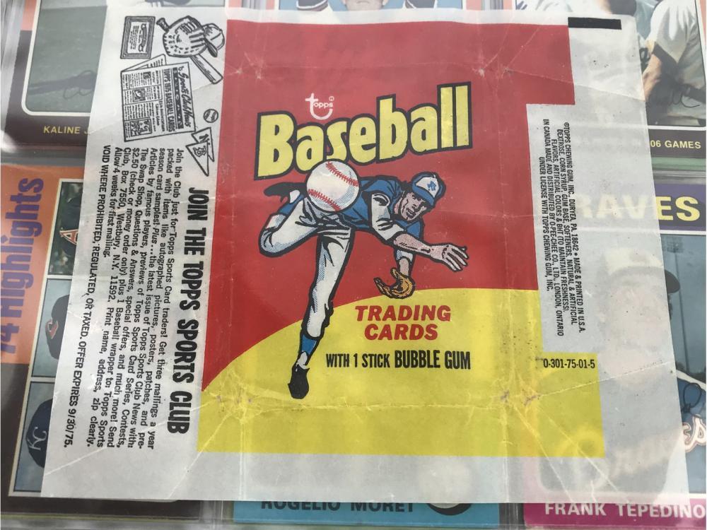 1975 Topps Baseball Complete Set - Brett/yount Rcs
