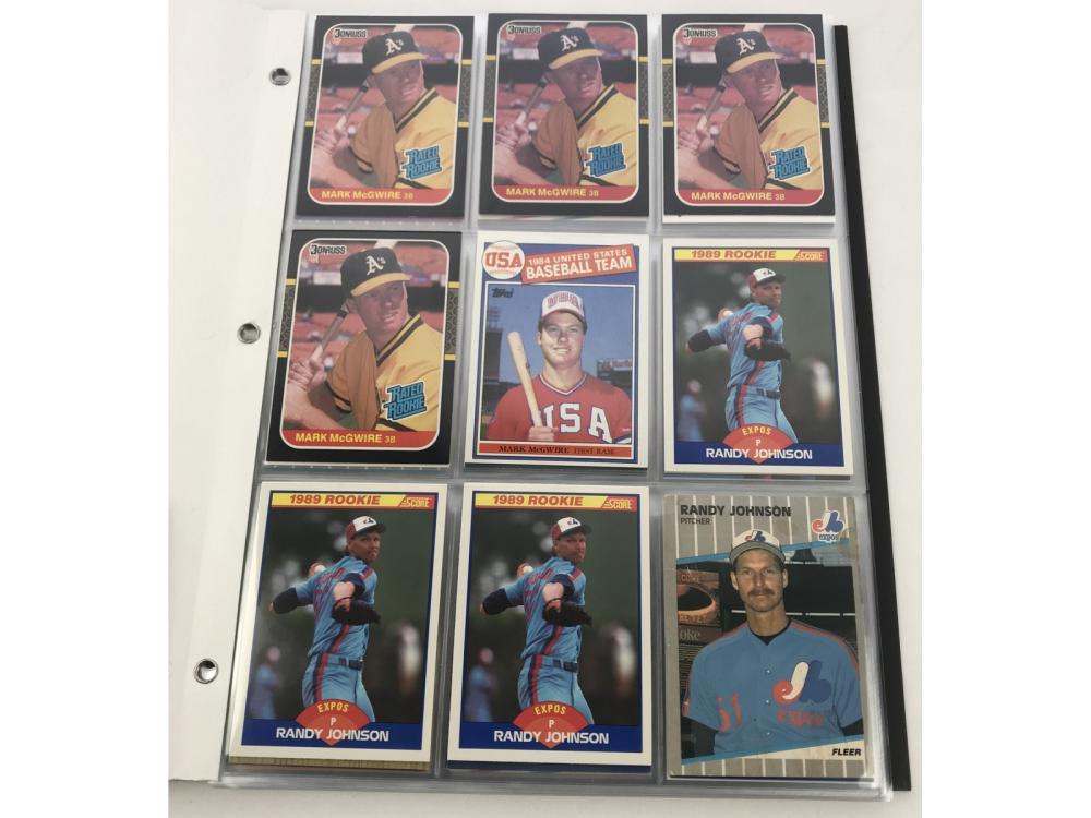 (90) 1980s Baseball Rookie Cards (stars)