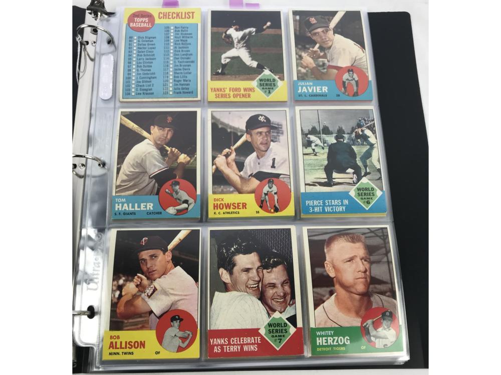 (72) Exmt 1963 Topps Bv $402