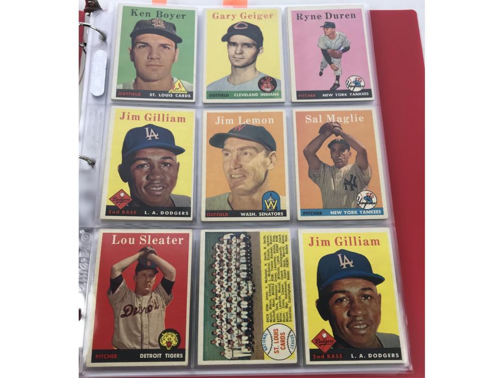 (90) Exmt 1958 Topps Bv $916
