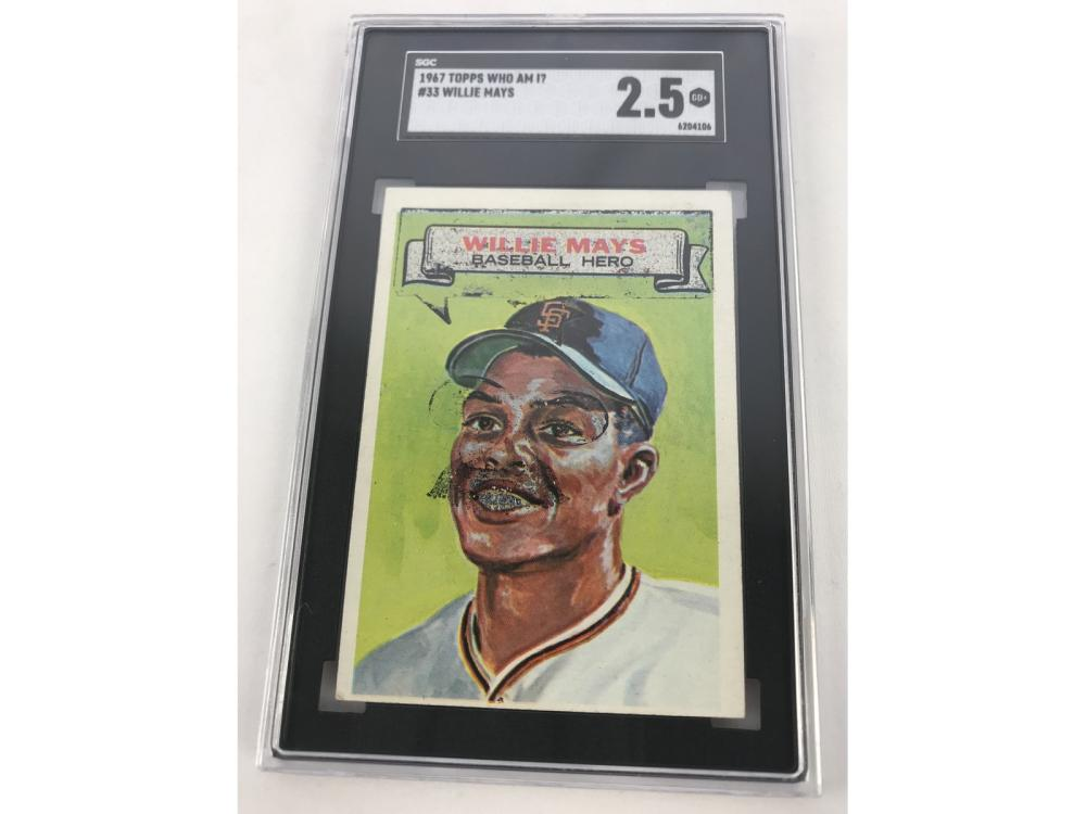 Sgc 2.5-1967 Topps Who Am I? Willie Mays
