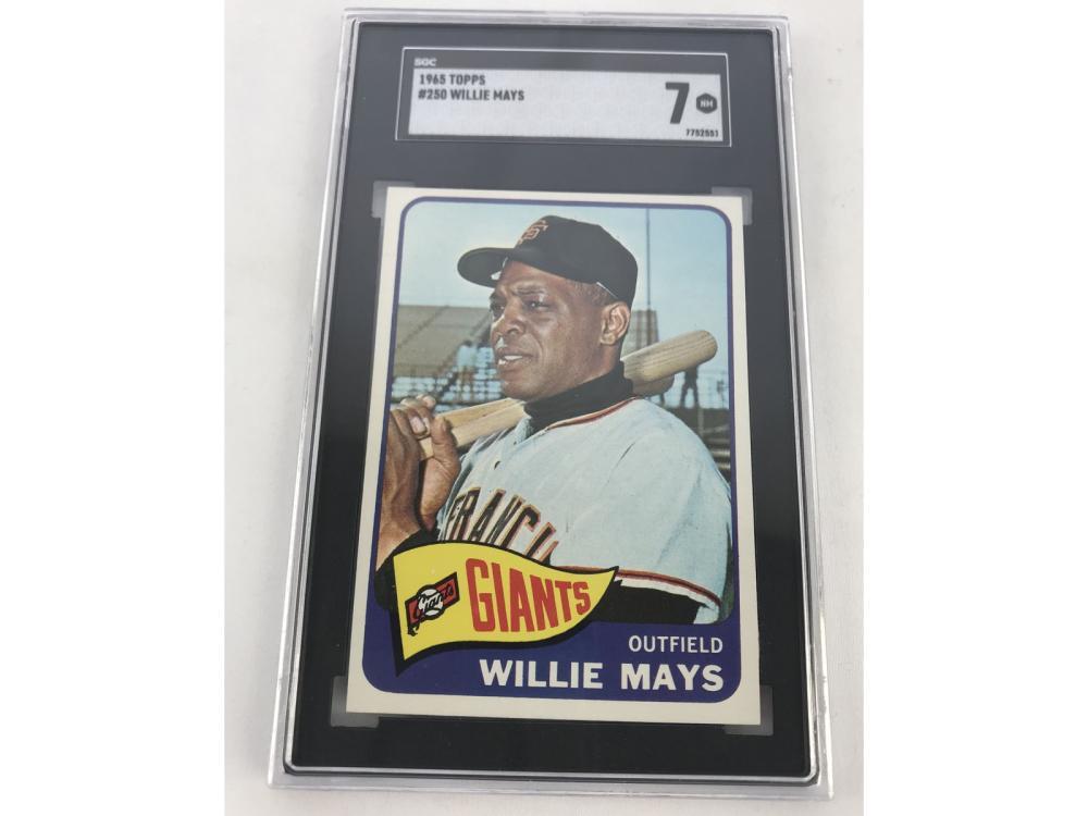 Sgc 7 (nm) 1965 Topps Willie Mays #250