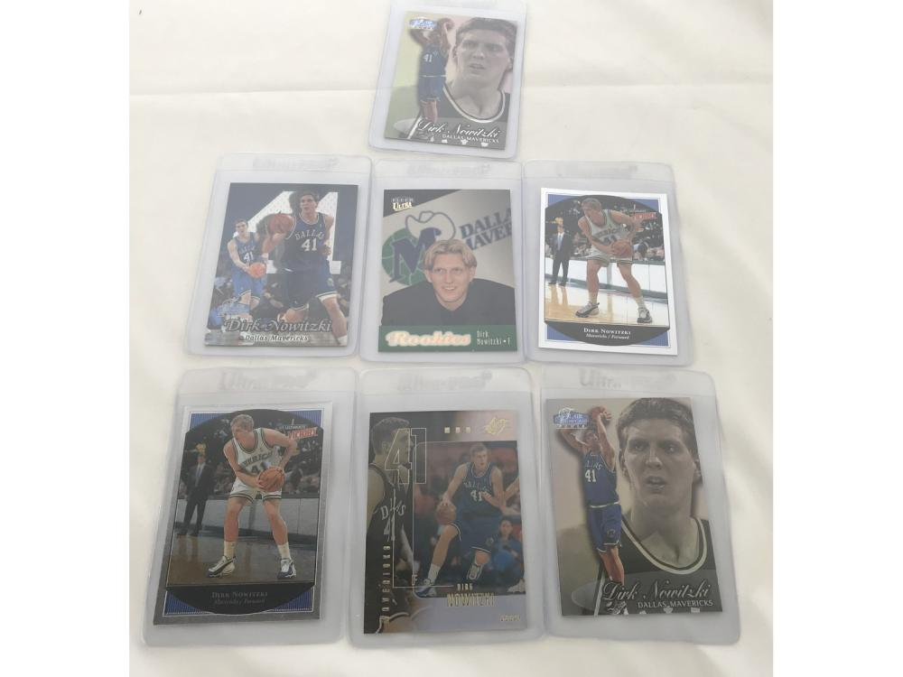 (24) Nba Rookies: (nowitzki/iverson/garnett)