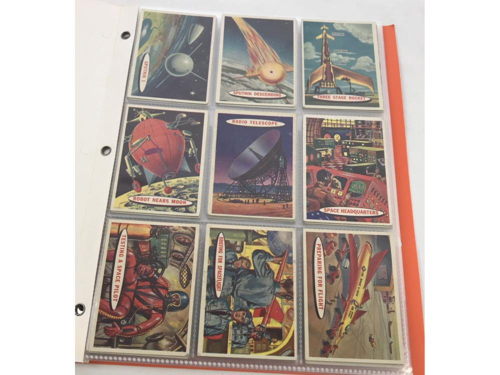 (54/88) 1958 Topps Space Cards Partial Set