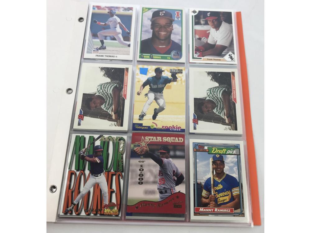 (60) 1990s Baseball Rookies - Stars/hofs