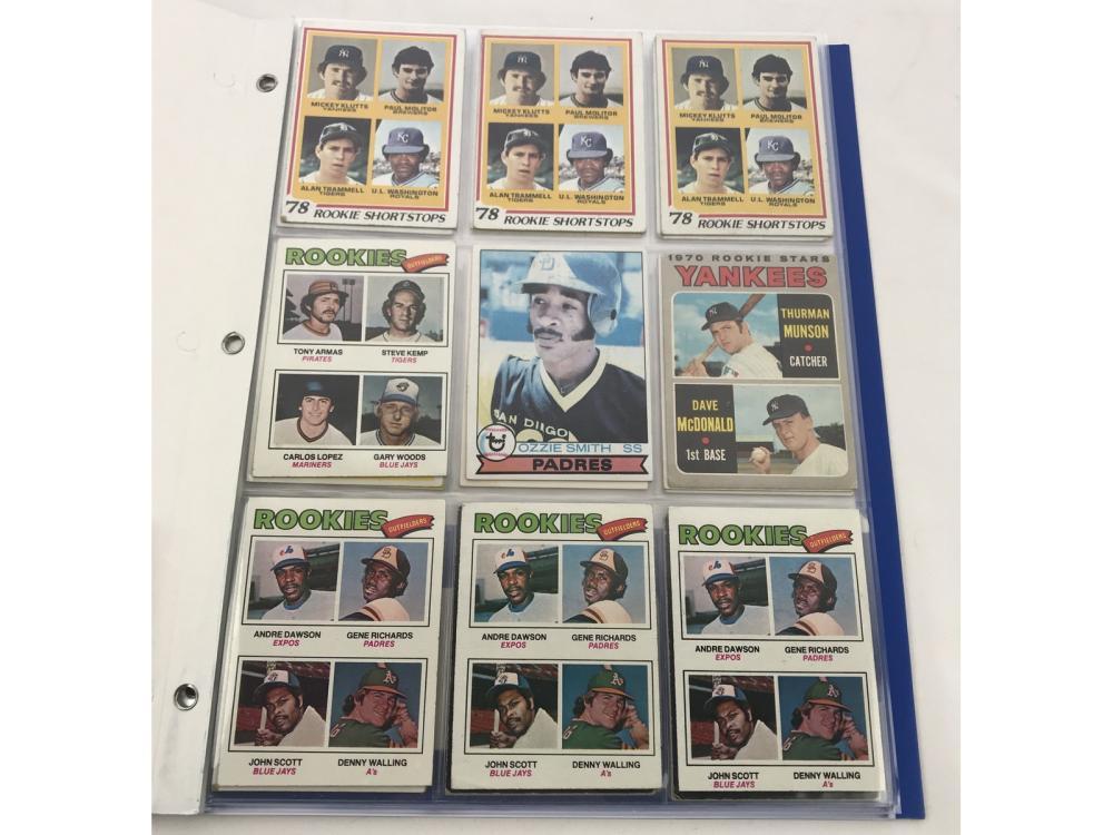(36) 1970s Rookies- Smith/murray/munson