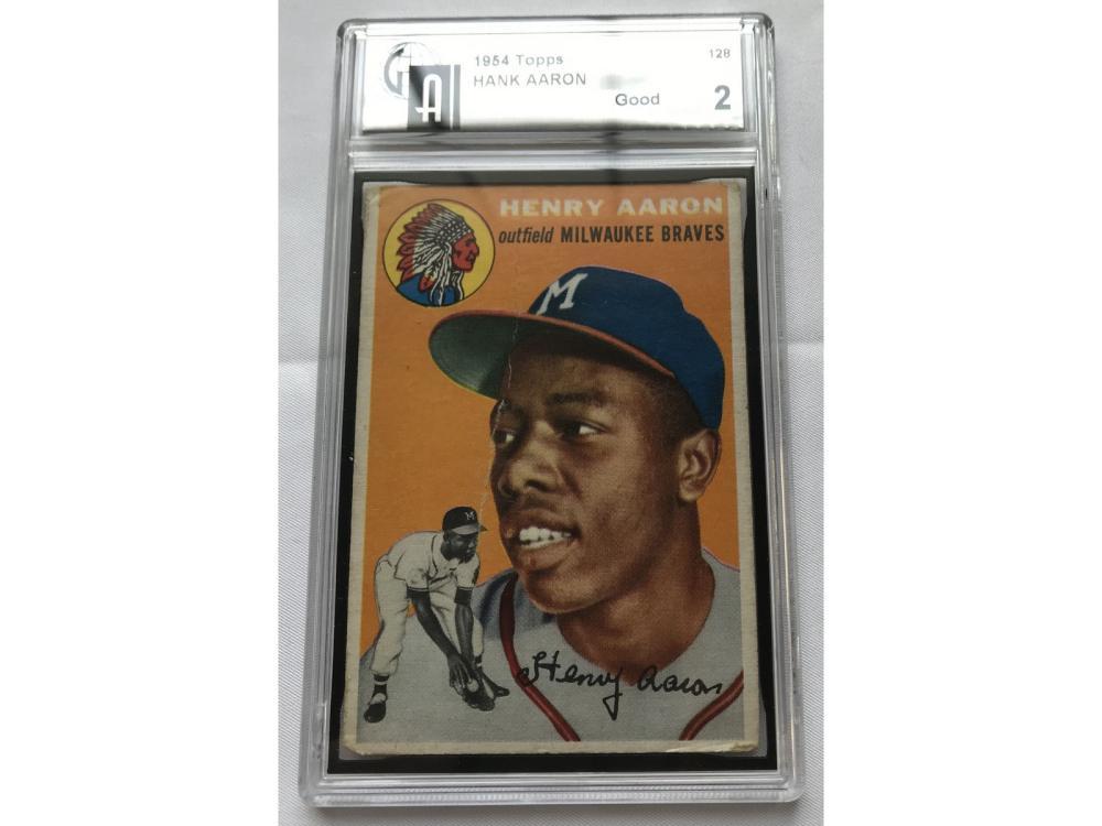 1954 Topps Hank Aaron Rookie Gai 2