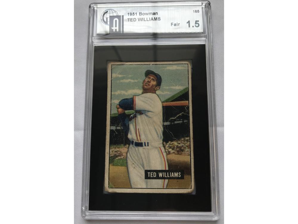 1951 Bowman Ted Williams Gai 1.5