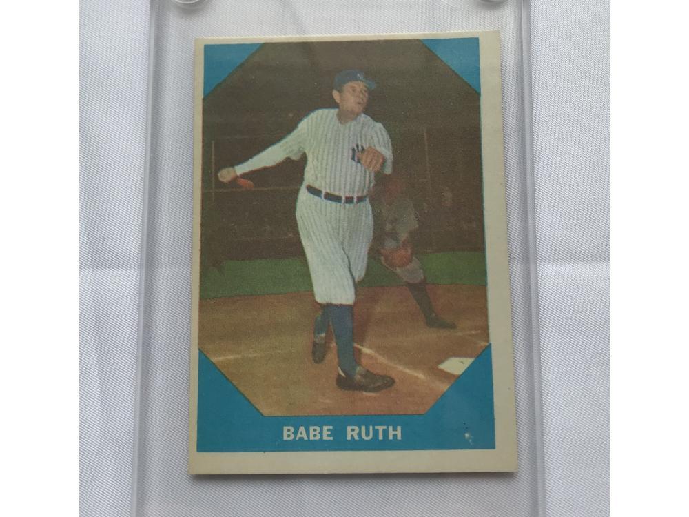 1960 Fleer Babe Ruth Near Mint
