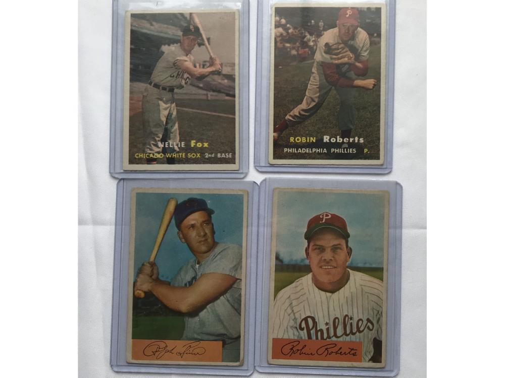 4 1950's Baseball Stars/hof
