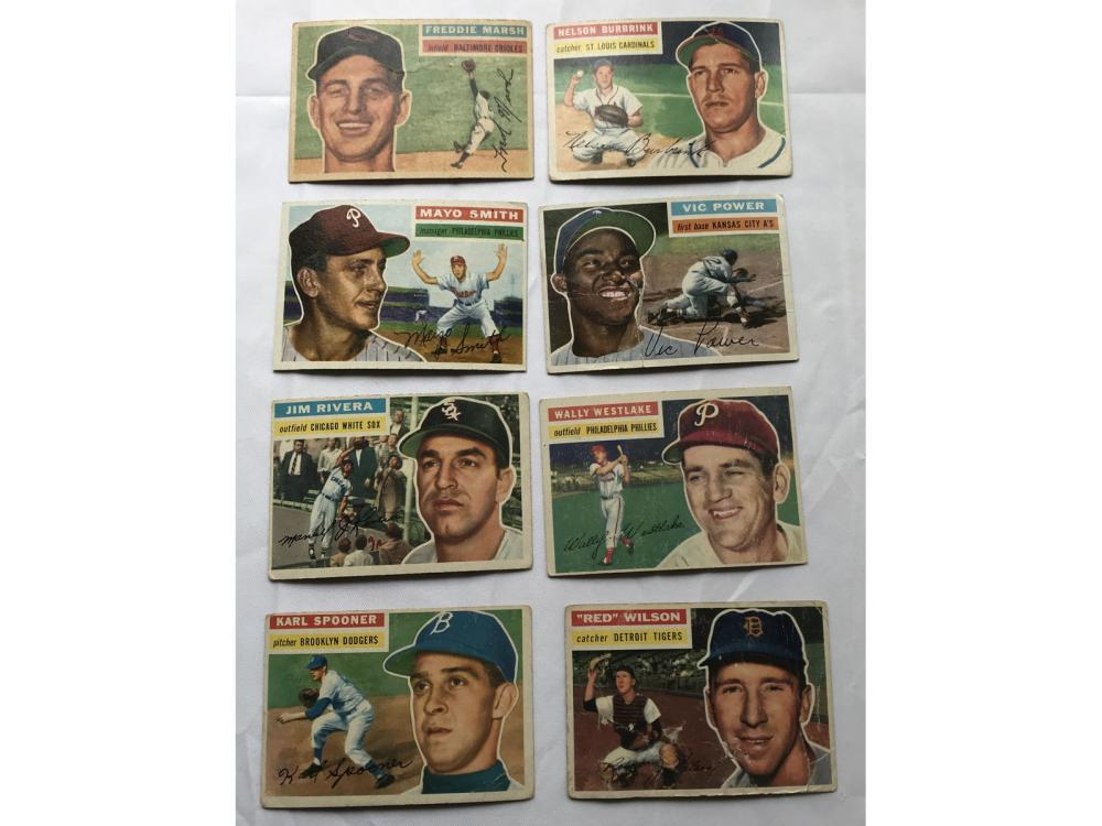 Over 230 Vintage Common Cards 1952-61
